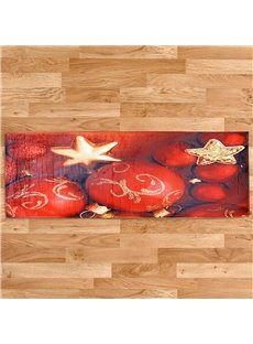 Christmas Cartoon Style Rectangle Polyester Area Rug
