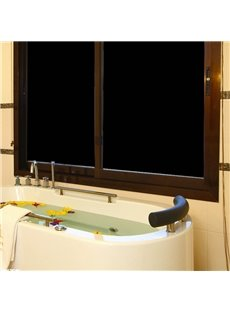 Black Frosted Opaque Window Film Static Privacy Protection