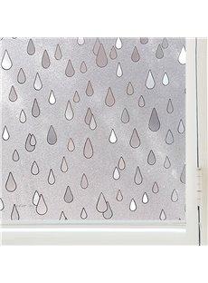 Raindrop Window Film Static Sticker No-glue for room