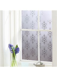 Classic Pattern Window Film No-glue Glass Static Sticker