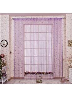 3 Degree of Purple String Curtain Sheer Thread Divider Door Decoration