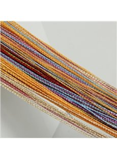 7 Mixed Color String Sheer Curtain Room Divider Decoration