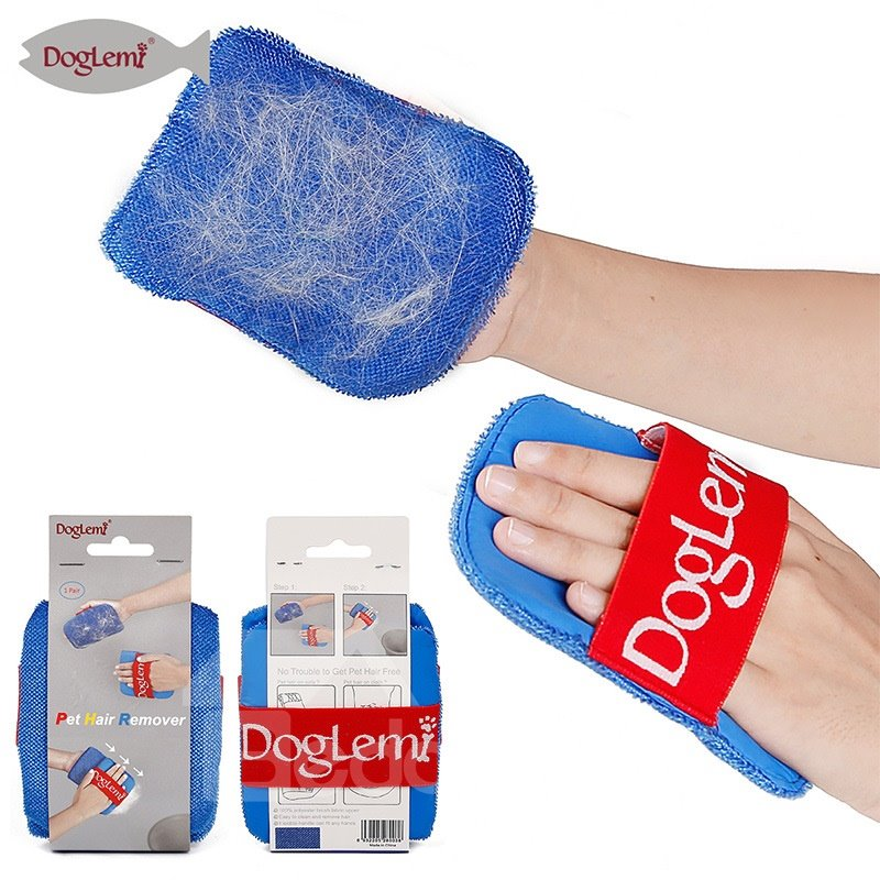 Pet Cat Hair Dog Hair Removal Gloves Two Packs