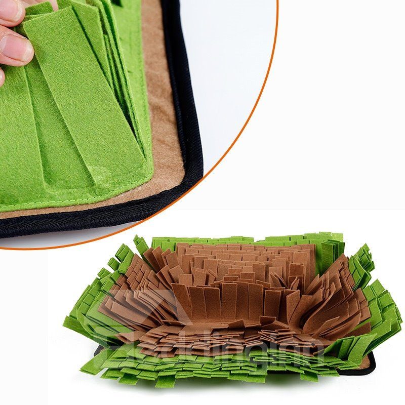 Pet Snuffle Mat Dog Smell Training Mat Stress Release Nosework Blanket