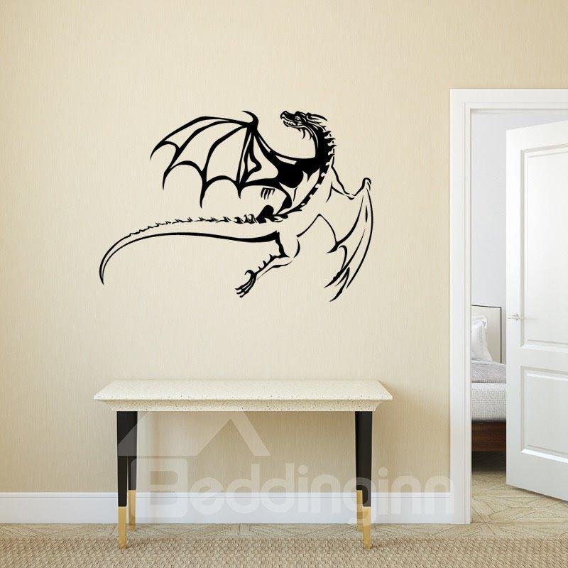 Dragon Pattern Waterproof PVC Removable Home Decor Wall Sticker