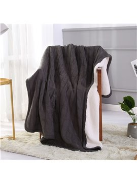 Black and White Unique Pattern Polyester Blanket