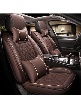 Comfortable Simple Business Style Universal Fit Car Seat Covers