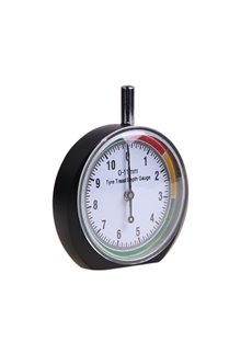 Car Wheel Tire Pressure Tread Depth Gauge Meter Pointer Indicator
