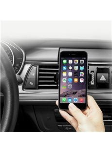 Simple Car Mount Phone Holder Automatic Locking Universal Cell Phone Holder for Car
