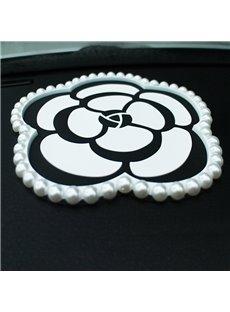 Camellia Car Ornament Anti Slip Mat for Mobile Phone