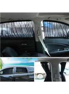 2 x 70L Universal Car Side Window Car Curtains