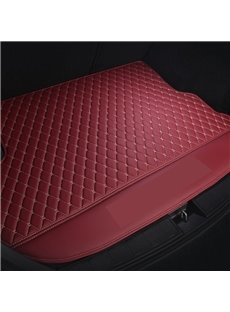 2 Color Simple Geometric Style Waterproof Car Trunk Mat For Volkswagen