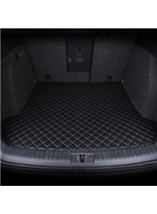 3 Color Geometric Pattern Waterproof Car Trunk Mat For Santana