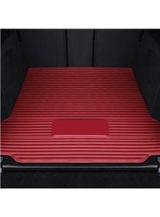 Simple Stripes Pattern Car Trunk Mat For Tesla