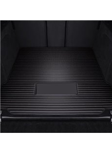 Simple Solid Stripes Pattern Waterproof Car Trunk Mat For Land Rover