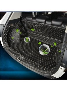 Diamond Shape Full Coverage Waterproof Car Trunk Mat For XRV