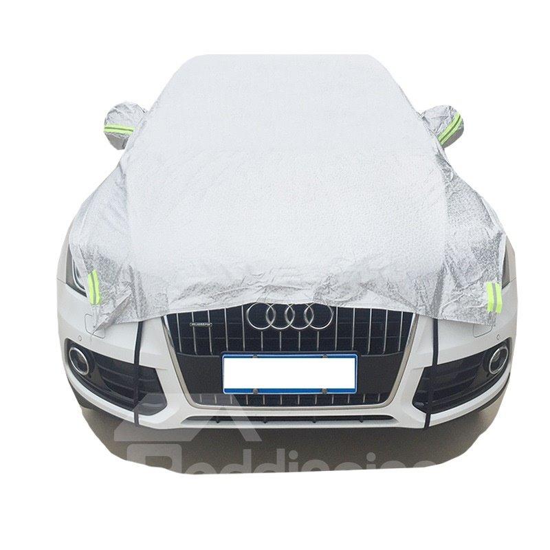 Half Car Body Cover Non-Woven Fabrics Car Sun Shades