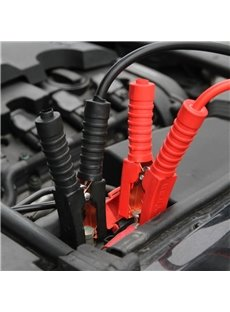 Lifeline Black Emergency Car Jumper Cables