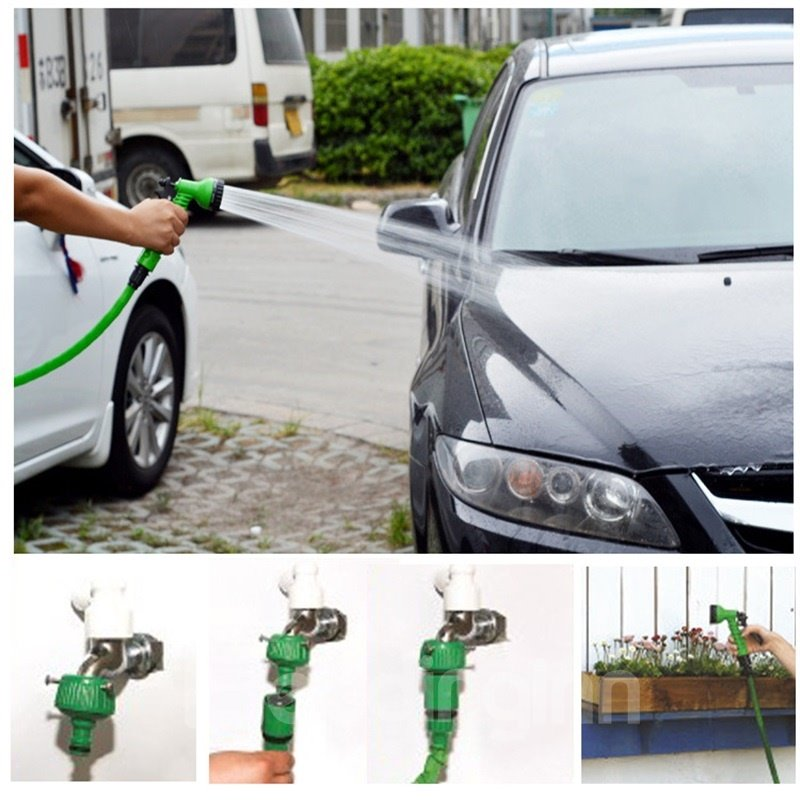 Telescopic Tose Car Wash Water Gun Set