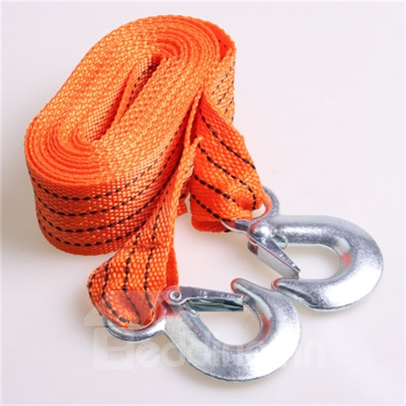 4M3T Universal Duty Tow Strap with Safety Hooks