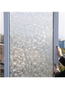 3D No Glue Laser Static Decorative Privacy Window Films for Glass Anti Uv