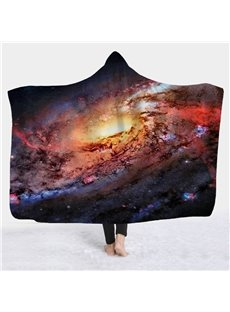 Nebula Galaxy 3D Printing Starry Blankets Warming for Winter/Autumn/Spring