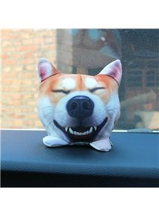 Creative Plush Soft Cute Animal Car Decoration