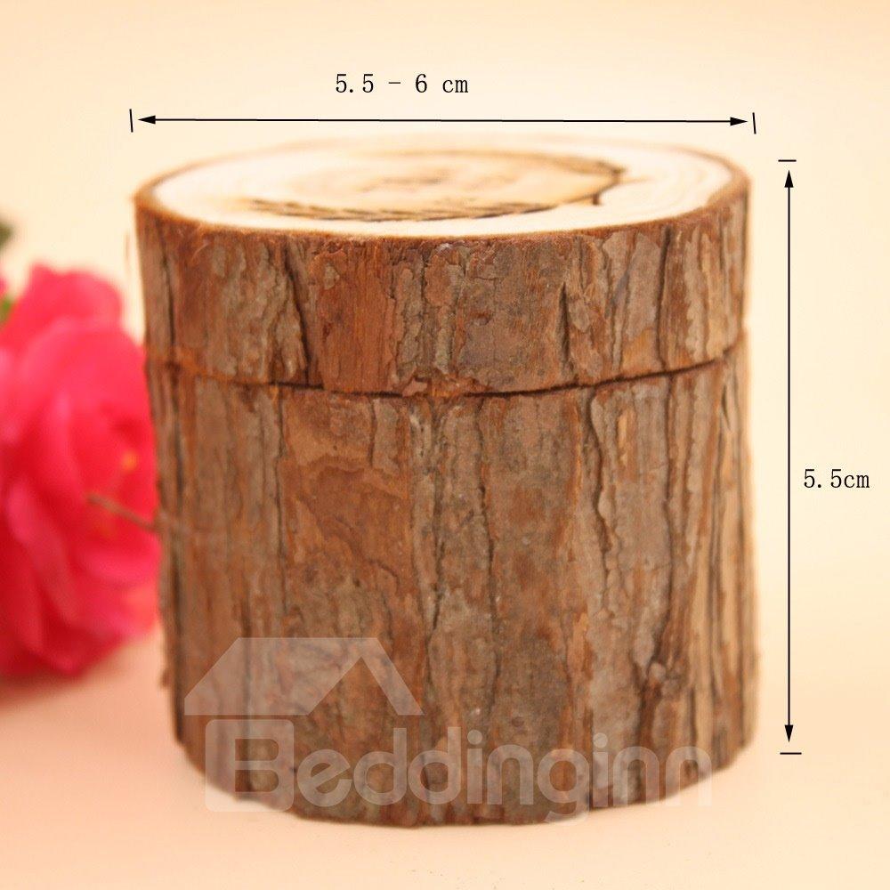 Personalized Wedding Rustic Wedding Ring Holder Box