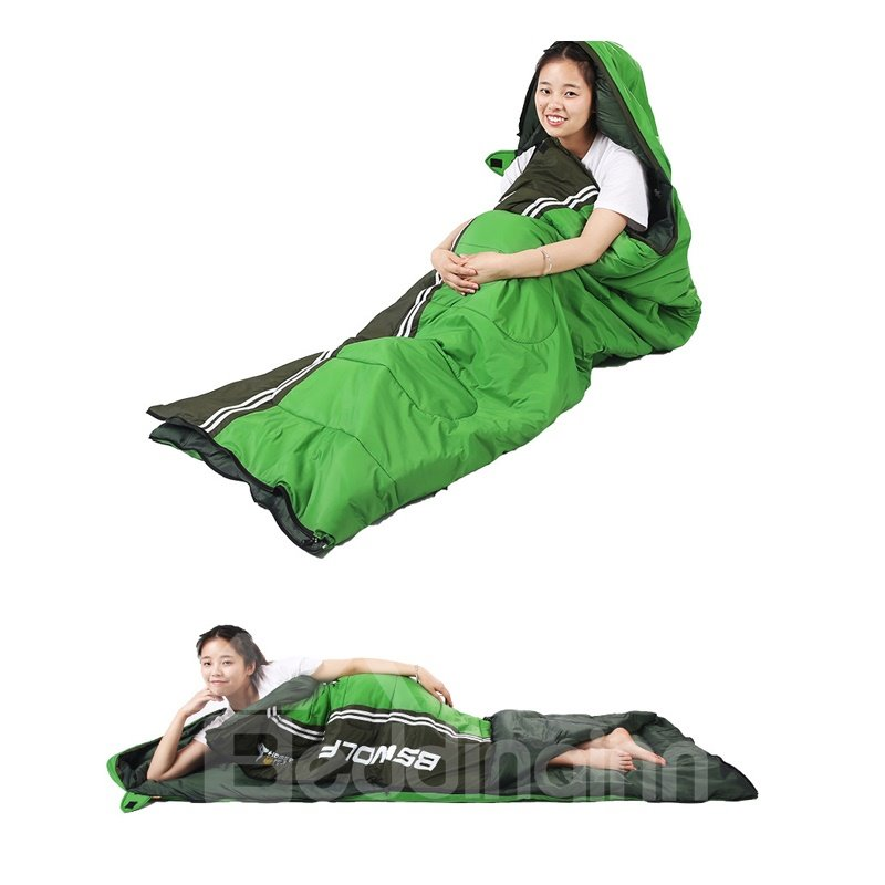 Waterproof Outdoor Lightweight Portable Envelope Sleeping Bags for Adults
