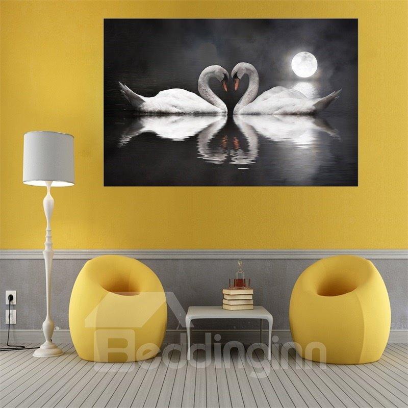 Wall Art World Swan Painting Home Decor