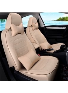 Contrast Color Simple Design Business Styled Custom Car Seat Cover