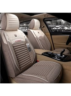 Superior Cool Flax Material F-Series Ram Tacoma Sierra Silverado Colorado Etc Universal Truck Seat Covers
