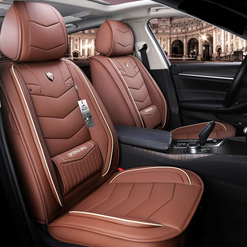 Non Fading Dustproof Wear Resistant Leather Color Lines Pic