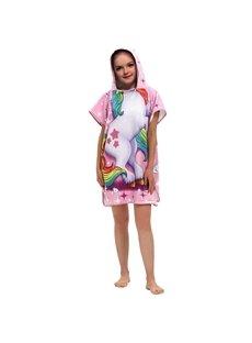 Plush Kids Hooded Bath/Pool/Beach Towel