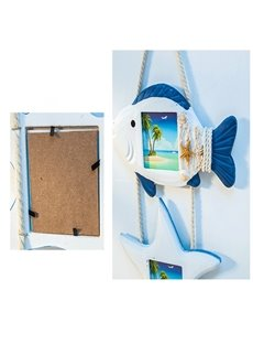 3 Vertical Opening With Real Glass Creative Hinged Wall Photo Frame