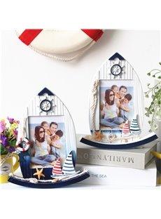 5 Inch Swing Sailboat Creative Desktop Photo Frame