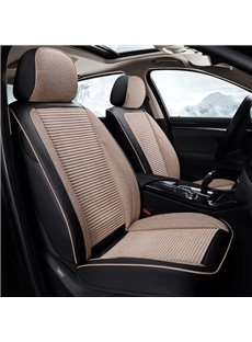Elegant Comfortable Stripe Pattern Luxury Universal Car Seat Covers