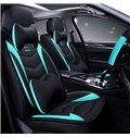 Sports Style Linen Material All Seasons Stripe Pattern Simple Style Universal Car Seat Cover