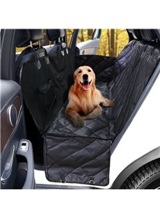 Creative and Simple Oxford Fabric Folding Black Car Pet Cushion