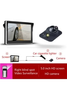 5-inch Car Display LED-sensing Car Camera Side-view Reversing Image System