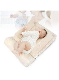 Anti-Polarity Head Pillow Side Support Nursing Wedge Pillow Positioner for Newborns Infant
