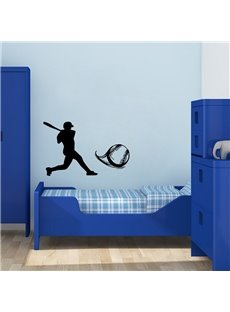 PVC Removable Baseball Sports Wall Stickers