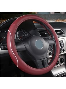 Simple Style PVC Color Block Pattern Steering Wheel Cover