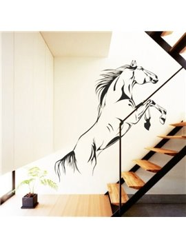 Removable Galloping Horse Pattern Wall Stickers