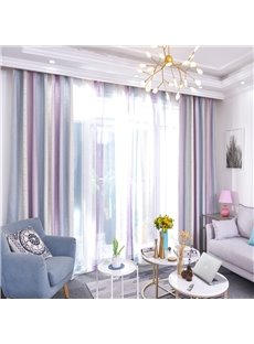 Fresh and Simple Design Blackout Cotton Material Curtain Sets