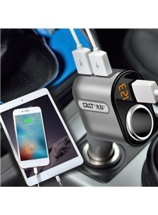 Multifunctional Phone Charger with Three USB Interfaces