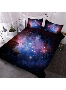 Magic Galaxy and Blinking Stars Printing 3D 3-Piece Comforter Sets