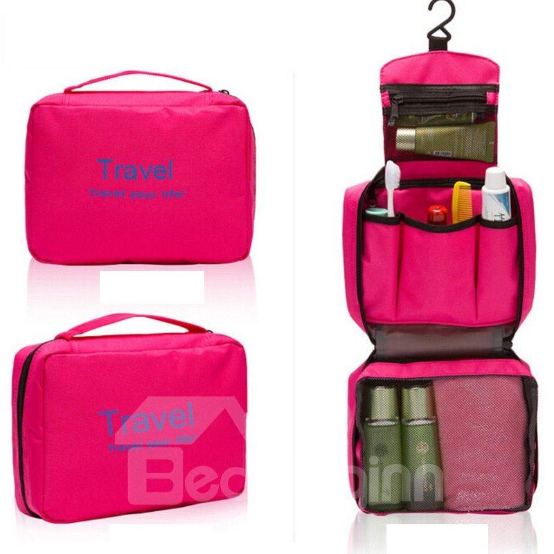 Portable Hanging Travel Toiletry Bag Waterproof Makeup Cosmetic Bag