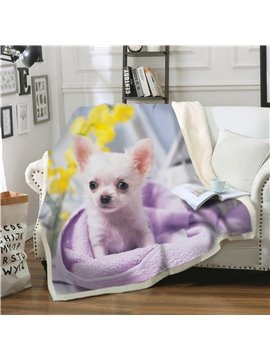 Add Your Photo Print Personalized Double-Deck Blanket