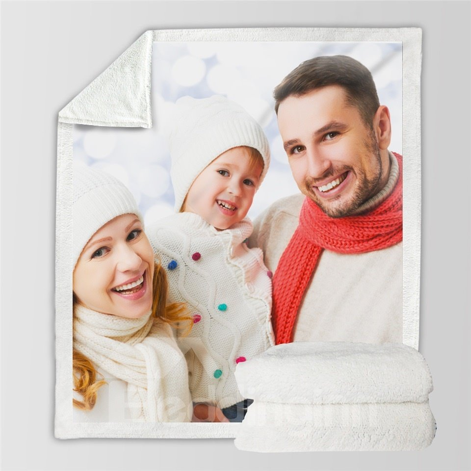 Custom from Your Photo Personalized Throw Blanket